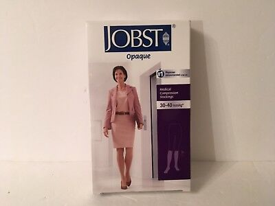 Jobst Legwear Opaque Compression Stockings 115496 Natural S Knee 30-40