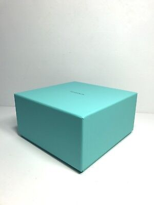 TIFFANY & CO Large Presentation Display Empty Gift Box Storage Container 8x4.5""