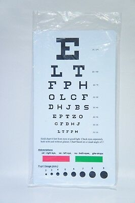 EMI Snellen Pocket Eye Chart EC-PSN (H-7)
