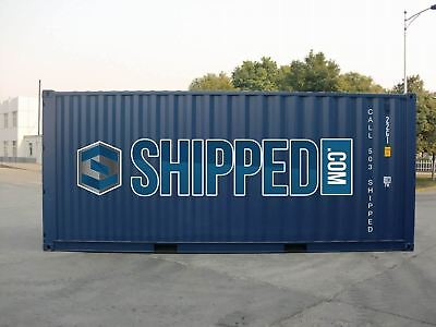 BEST PRICE! NEW 20' SHIPPING CONTAINER for HOME & BUSINESS STORAGE in DALLAS, TX