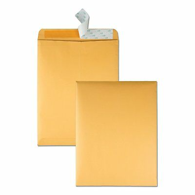 Quality Park 10 x 13 Catalog Envelopes with Self Seal Closure, 28 lb Brown