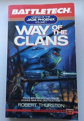 BATTLETECH - Way of the Clans by Robert Thurston (1991, Paperback) Vol. 1 of 3
