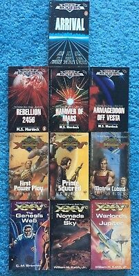 10 Buck Rogers XXVC 25th Century Paperback Novels from TSR