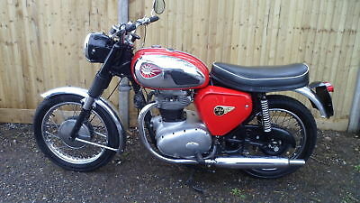 Bsa A65 Star Twin 1962 [Classic Motorcycle]