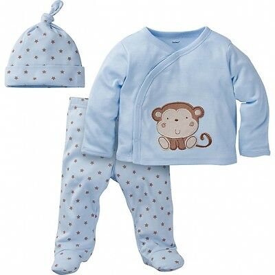 3c134b2c240f NEW NWT Carters Baby Boys 3 Piece Take Me Away Set Baby - Tiger ...