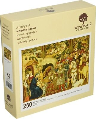 Wentworth Adoration of the Magi 250 Piece Wooden Christmas Xmas Jigsaw Puzzle