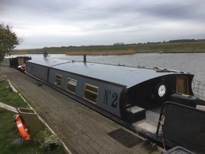 Widebeam Live Aboard Narrow Boat 60 x 12 2006