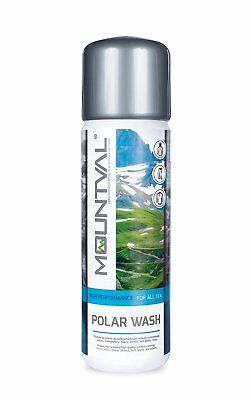 Mountval Polar Wash. Performance wash-in cleaner for outdoor and hiking.