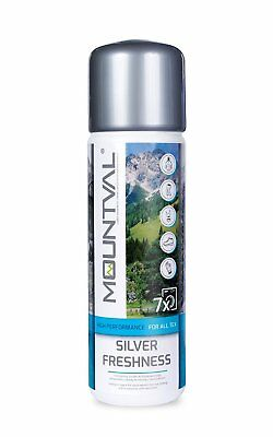Mountval Silver Freshness, odour killing refresher and wash-in conditioner.