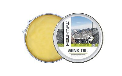 Mink Shoe Dubbin Oil, Protects Waterproofs Nourishes Outdoor Hiking Shoes Boots