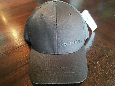 48d1e0b421b Men s Dakine Silicone Rail Flex Fit Baseball Cap Dark Brown