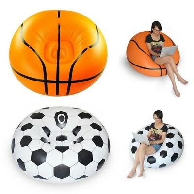Attirant New Inflatable Basketball Sport Bean Bag Chair Sofa Soccer Football Lounge  Couch