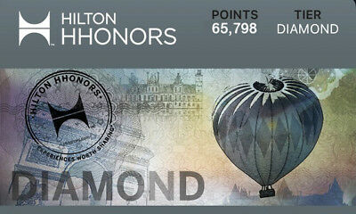 Hilton Honors Diamond status/card (90 days trial , can be extended to Mar 2020)
