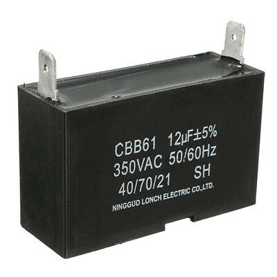 12uF AC 350V Generator Capacitor 55x33x20mm Capacitor [From US]