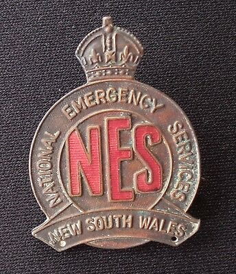 Ww2 Nsw National Emergency Services Badge