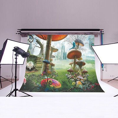5X7FT Alice in Wonderland Backdrop Photography background Studio Photo Prop