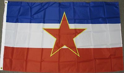 3X5 Communist Yugoslavia Flag Old Banner Sign New F419