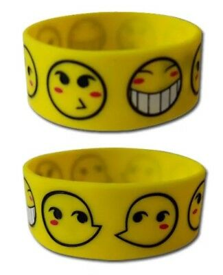 *NEW* Cowboy Bebop: Ed Smiley Faces PVC Wristband by GE Animation
