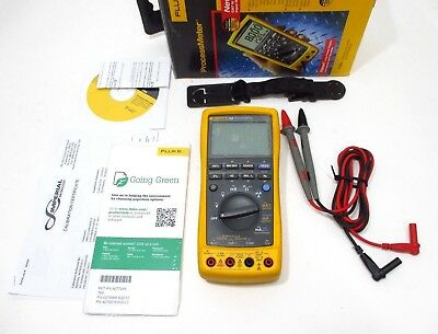 Fluke 789 Processmeter Multimeter 2018 - 2019 Calibration Included Excellent