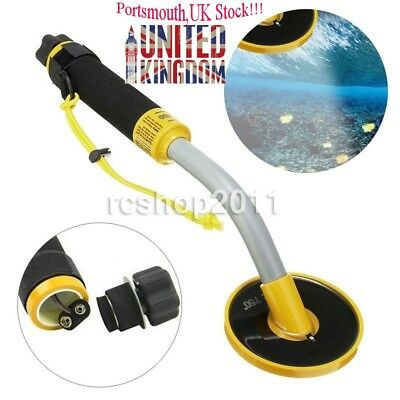 30M Underwater Pulse Induction Metal Detector Pinpointer Gold Coin Hunter Kit UK