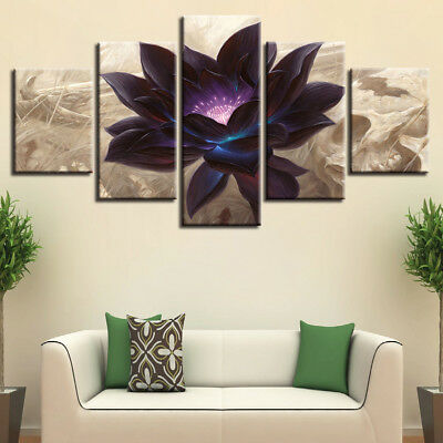 Flowers Modern Painting Picture Canvas Wall Art Home Decor Prints HD Poster