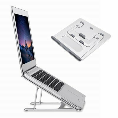 Adjustable Aluminum Laptop Desk Stand For Tablet Notebook Portable