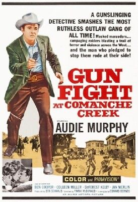 Gunfight at Comanche Creek ~ RARE Western Classic DVD 1963 ~ Audie Murphy