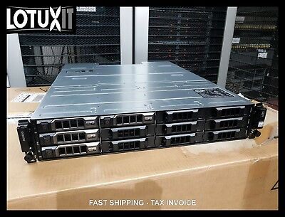Dell Powervault MD3800i 10Gb iSCSI SAN 4x 600GB 15K 12G SAS 10G-iSCSI-2