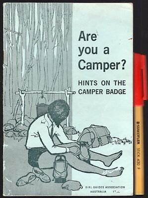ARE YOU A CAMPER Girl Guides Brownies Boy Scouts