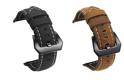 Luxury Replacement  Leather Wrist Strap Watch Band For Fitbit Versa Watch