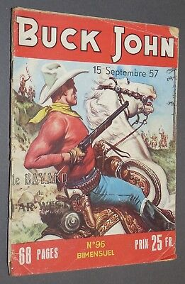 Petit Format Imperia Buck John Le Bayard Du Far-West N°96 15 Septembre 1957