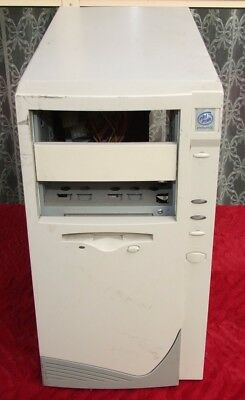 Tower ATX computer case from Pentium II III 4 era with 450W power supply