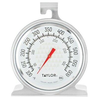 Thermometer, Oven, 100 to 600 F & 50 to 300 C, Taylor Home 3506, Oven Safe