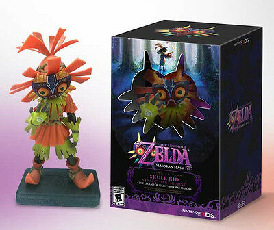 The Legend of Zelda Majora's Mask 3D SKULL KID Collectible Figurine new in box