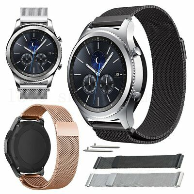 Stainless Steel Silicone Watch Band Strap For Samsung Gear S3 Frontier/Classic