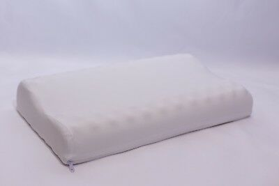 Contour Pillow Memory Foam Air flow Pillow With Cool touch Zipped washable cover