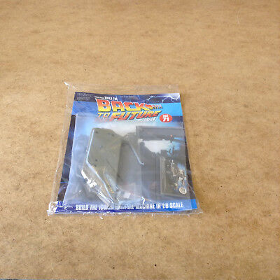 Build Back To The Future Delorean Time Machine Issue 71 1:8 Scale Die-Cast Parts