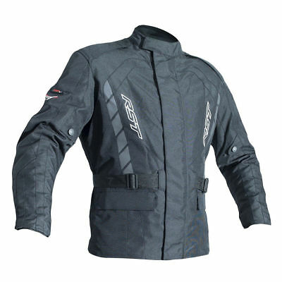 RST Alpha IV Black Waterproof Textile Touring Jacket -CE Approved New