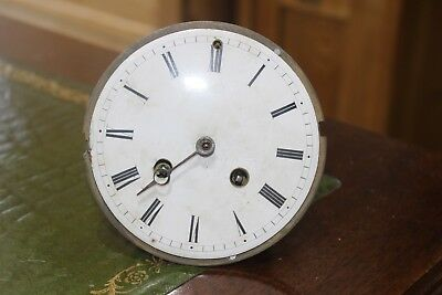 Antique Levy A Geneve Clock Mechanism Movement And Face