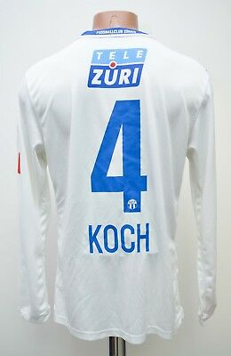 Zurich Switzerland Match Issue 2009/2010 Home Football Shirt Nike #4 Koch