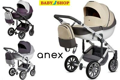 Stroller 2in1 Anex m/type Sport pram sport seat carrycot puschair new collection