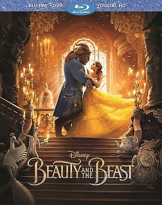Beauty and the Beast LIVE Version (Blu-ray/DVD,Includes Digital Copy) Free Ship!