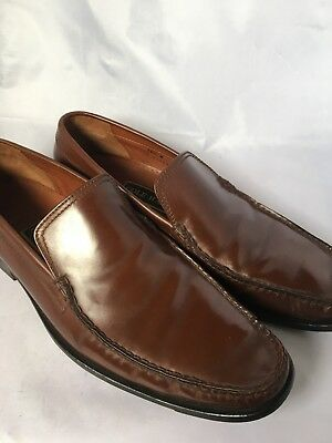 8756e83b41d 312)COLE HAAN DWIGHT Tassel Loafer Shoes Saddle Brown Men s Sz 10 M ...