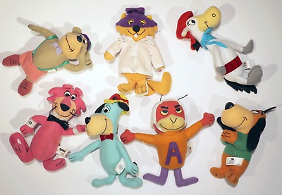 Dq Dairy Queen Premium Plush Figure Hanna Barbera Huckleberry Hound Lot Of 7 Toy