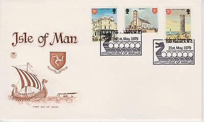 Unaddressed Isle of Man Special PMK Cover 1979 Odd Fellows AMC postmark