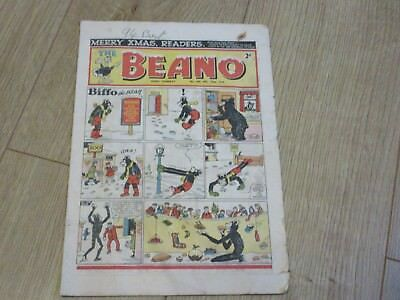 BEANO COMIC No 545, December 27th 1952- Christmas issue,  Good/fair Condition