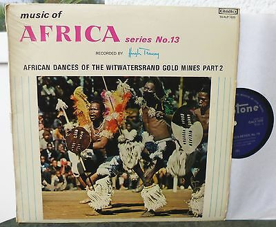 Hugh Tracey – African Dances of The Witwatersrand Gold Mines Part 2 Gallotone LP