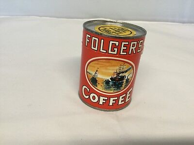 Old Collectible Folgers Coffee Puzzle