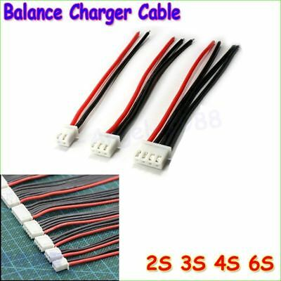 5pcs/lot 2S 3S 4S 5S 6S Lipo Battery Balance Charger Cable IMAX B6 Connector Plu