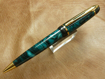Waterman Phileas Twist Action Ballpoint Pen In Green Black